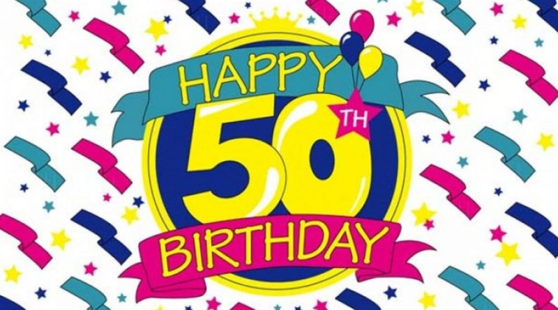 50th Birthday Wishes Tapelicious