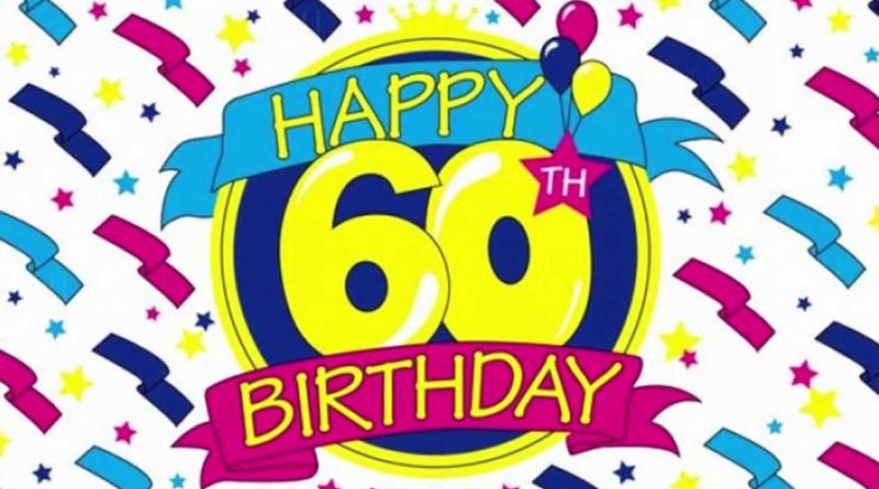 60th birthday wishes tapelicious